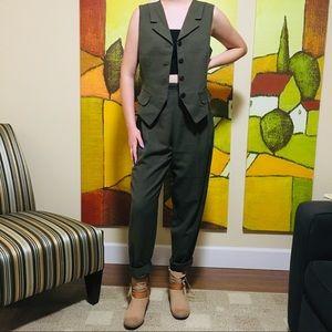 Vintage Vest & Trouser Set
